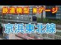 『鉄道模型 Nゲージ』京浜東北線 御徒町駅(実音試験編)