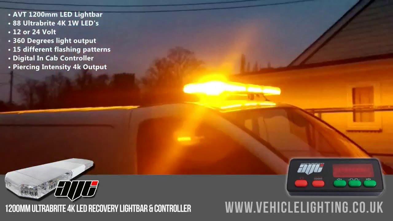 Avt 1200mm 48 led 12v amber strobe recovery light bar youtube avt 1200mm 48 led 12v amber strobe recovery light bar aloadofball Gallery
