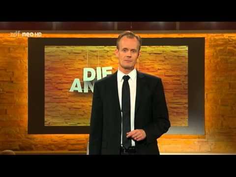 ZDF Die Anstalt: 28.10.2014 Max Uthoff über Steuerverschwendung, Attac, Lokführerstreik