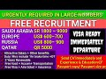 Free Jobs in Russia,Europe, Saudi Arabia Salary upto Rs.35600 -175400, 5th Jan Assignment E-Paper
