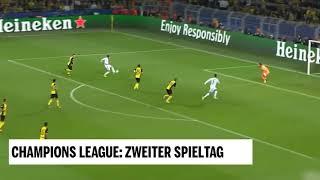 Champions League: Zweiter Spieltag