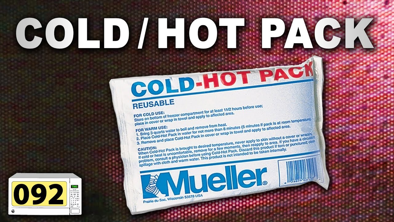 microwave a cold hot pack 092