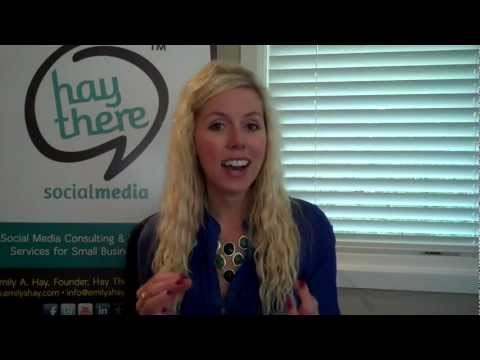 Social Media Workshop by Emily A. Hay - Birmingham Bloomfield Chamber of Commerce