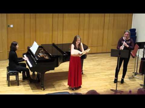 Aneta Kołton Soprano performance @ Guildhall School of Music and Drama, London