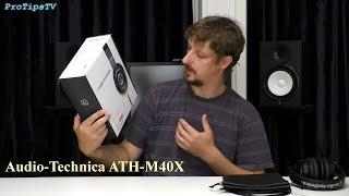 видео Обзор и тест наушников Audio-Technica ATH-M50