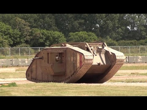 First World War Tanks and Displays - HD - Bovington Tank Museum, Warhorse and Trench Experience