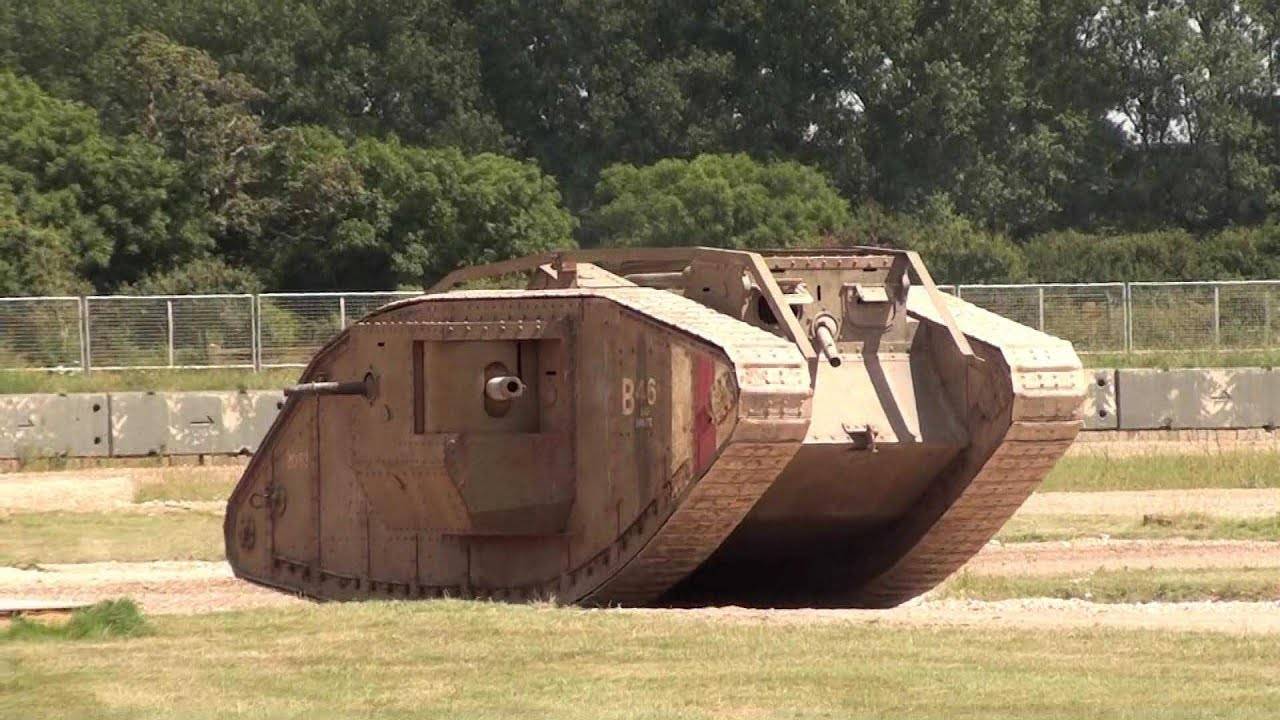 The first tanks of the First World War. Breakthrough in the technical equipment of the armies 11