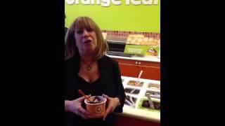 Sheila G at Orange Leaf NYC