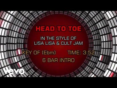 Lisa Lisa & Cult Jam - Head To Toe (Karaoke)