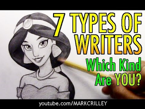 7 Types of Writers: Which Kind are YOU?
