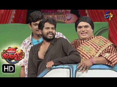 Hyper Aadi Raijing Raju Performance | Jabardsth | 7th September 2017| ETV  Telugu