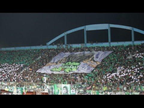 Full Koreo & Action Brigata Curva Sud & Slemania || PSS VS PERSEBAYA Liga 1