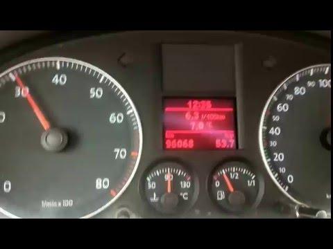 Расход топлива VW Touran 1.6 2006