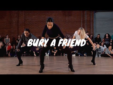 Billie Eilish- Bury a Friend- GALEN HOOKS Choreography ft. Maddie Ziegler, Charlize Glass