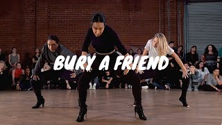 Billie Eilish- Bury a Friend- GALEN HOOKS Choreography ft. Maddie Ziegler, Charlize Glass Video