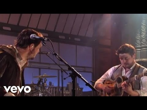 Mumford & Sons - Below My Feet (Live On Letterman)