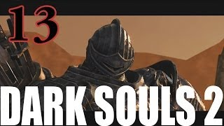 Dark Souls 2 Gameplay Walkthrough Part 13 - Boss Fight - The Pursuer