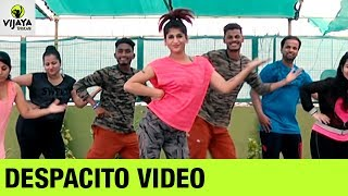 Luis Fonsi DESPACITO Major Lazer Remix | Zumba Workout on DESPACITO Song | Vijaya Tupurani