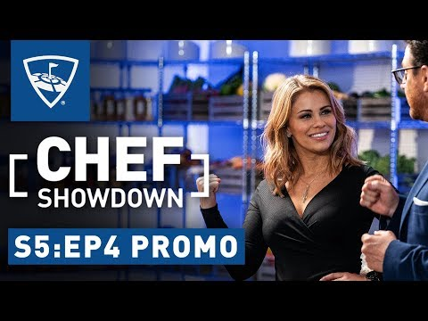 Chef Showdown | Season 5: Episode 4 Promo - Paige Vanzant Eats How Many Wings At Once?? | Topgolf