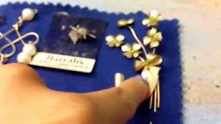 Garage sale haul, thrift haul, estate sale haul, jewelry haul #15 (August 23, 2015)