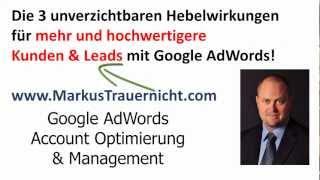 3 Hebelwirkungen + 24 Punkte zu stärkeren Anzeigentexten mit Google AdWords