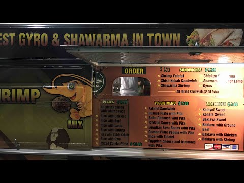 Best Gyro & Shawarma In Town Oakland Food Truck In Uptown