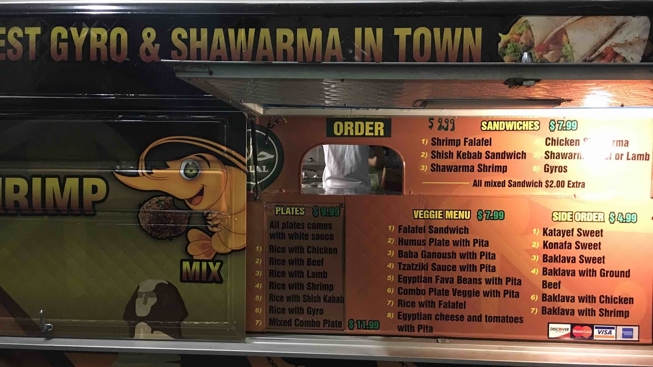 Best Gyro Shawarma In Town Oakland Food Truck Uptown