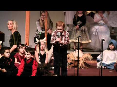 20101216 Ryan Speaking Part at Saddleback Valley Christian School 2010 Christmas Program.mpg