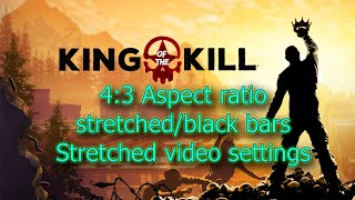 Z1 Battle royale/4:3 aspect ratio resolution/black bars or stretched/custom resolutions/OBS settings