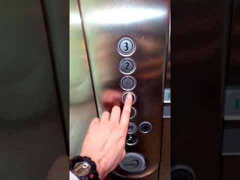 Kone Ecodisc Traction Elevator @ Jumbo Store,Ag.Paraskevi,Athens