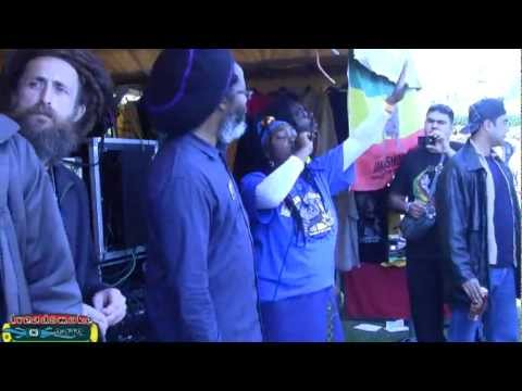 KING SHILOH & FRIENDS - Bun di ganja selection (long mix 1) @ cannabis day A-dam 17-06-2012