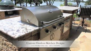 Outdoor Kitchen Designs Flower Mound