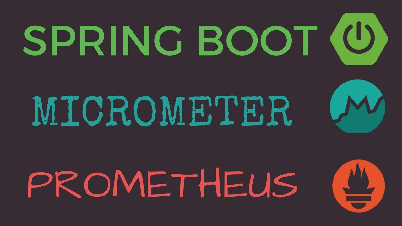 Spring Boot 1 5+ with Micrometer and Prometheus Example | Tech Primers