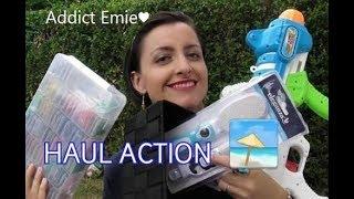 HAUL ACTION🏖même en vacances!...Addict Emie
