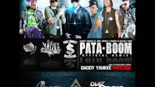 Daddy Yankee Ft Jory, Jowell y Randy, Alexis y Fido - Pata Boom (Official Remix)