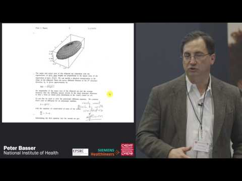 The Invention and Development of Diffusion Tensor NMR and MRI at the NIH - Peter Basser