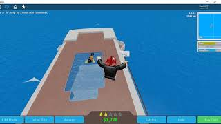 I play different games on ROBLOX for an hour