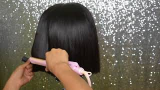 HOW TO: BLUNT CUT BOB | FT HJ WEAVE BEAUTY HAIR | LANI FELI