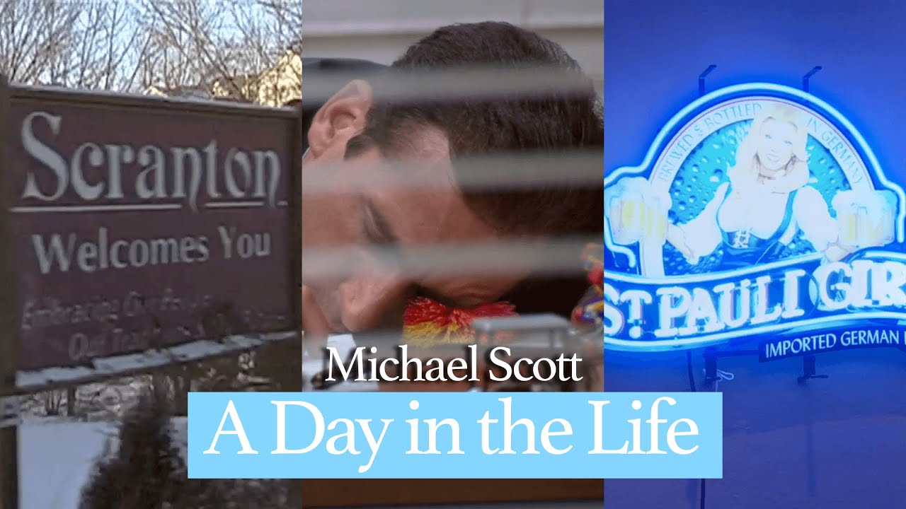 Michael Scott: A Day in the Life of a Regional Manger   The Office U.S.   Comedy Bites