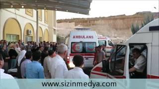 Midyat'taki minibüs kazasında 17 kişi yaralandı