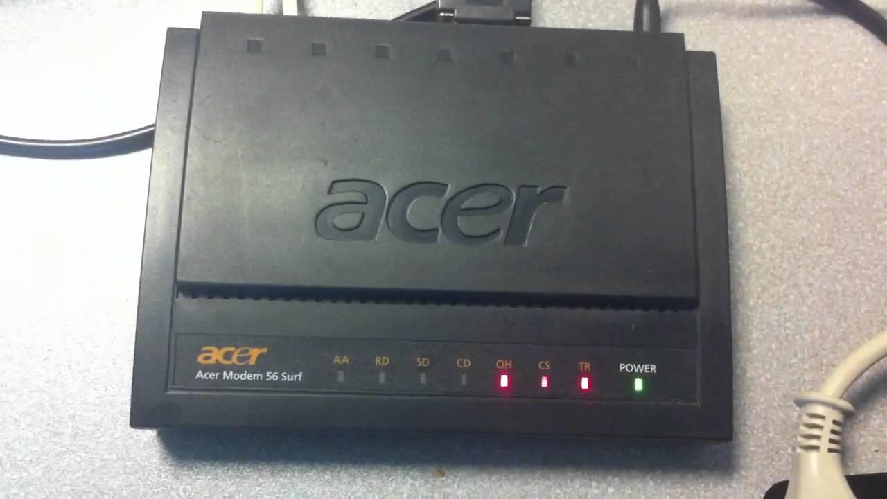 New Driver: Acer Modem 56 Surf
