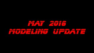 may 2016 modeling update