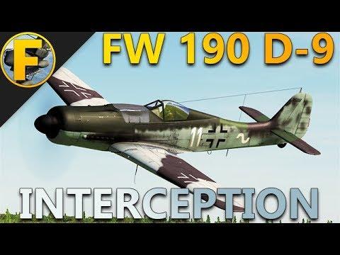 DCS World - Chasse aux B-17 en FW 190 D-9
