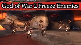 God of War 2 Freeze Enemies Hacked (Part 3)