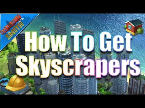 SimCity Buildit | How To Get Skyscrapers - Upgrading to Luxury Residential Buildings