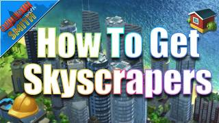 simcity buildit how to get skyscrapers upgrading to luxury residential buildings