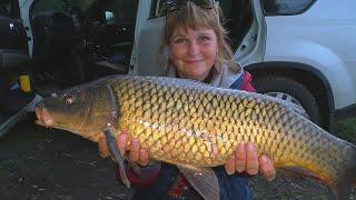 Рыбалка на новые пружины . Карп караси и Ирин адреналин . Ловля раков на сало. My Fishing