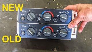 Climate Control Module For 1996-1999 Chevrolet C1500; HVAC Control Module Modul