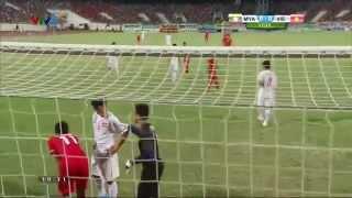 U19 Đông Nam Á: U19 Việt Nam - U19 Myanmar Hiệp 1
