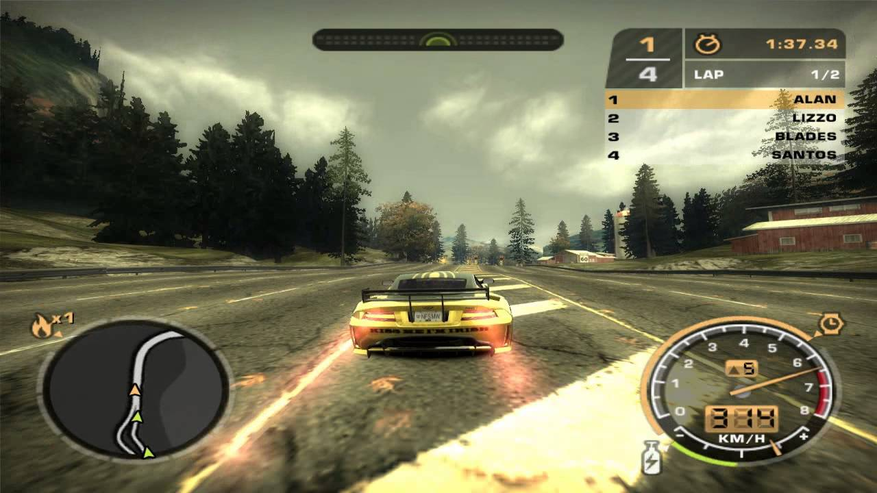 Need for speed most wanted 2005 race 109 campus Nfs most wanted para pc